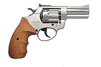 "Револьвер под патрон Флобера PROFI 3"" сатин (рукоять бук), фото 1"