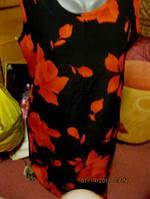 Платье классика 50 16 L красное черное