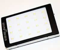Внешний аккумулятор портативное зарядное устройство UKC Solar Power Bank 15000 mAh LED фонарь с солнечной батареей 2 USB