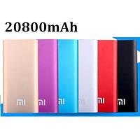 Внешний аккумулятор портативное зарядное устройство Xiaomi Power Bank Mi 20800 mAh реплика металл