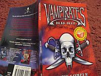 Книга пираты на английском языке Vampirates Dead Deep Джастин Сомпер Justin Somper
