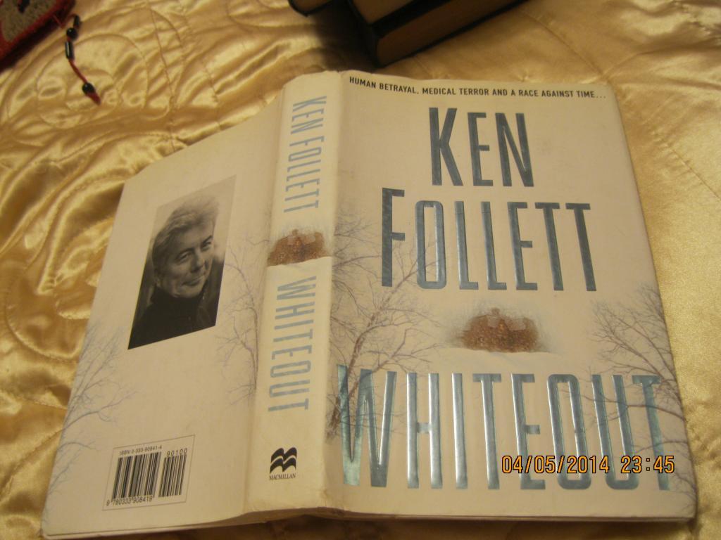 Книга на английском языке WHATEOUT