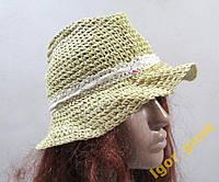Шляпа соломенная PEACOCKS , 56, Отл. сост!