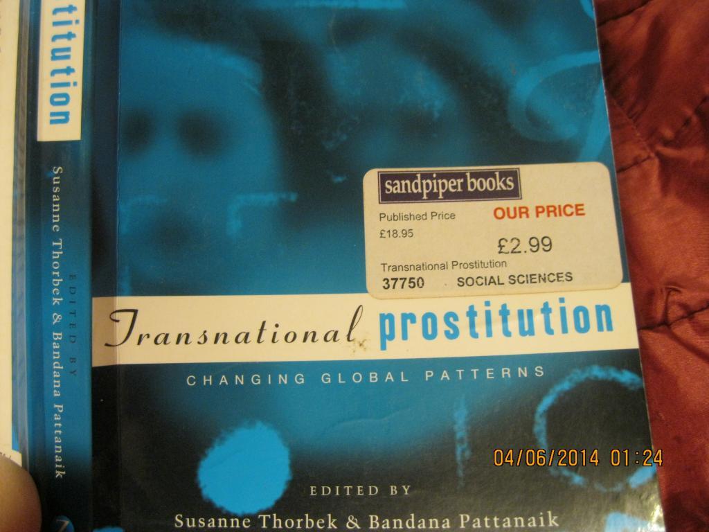 На английском языке книга о проституции изБРИТАНИИ