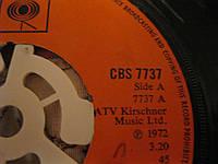 Пластинка старая 1973 без упаковки из Британии на английском языке