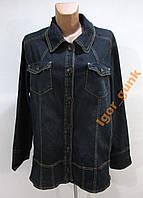 Куртка джинсовая M&S, 52, КАК НОВАЯ!