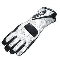 ATROX NF-3882 Lady Gloves White/Black, S Мотоперчатки женские кожа