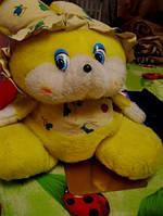 ЗАЯЦ большой ФИРМЕННЫй мягкая игрушка офигенный редкая ей лет 20 отличная опилки