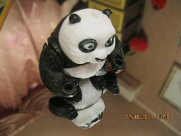 ИГРУШКА ПАНДА МИШКА фигурка статуэтка панда-кунфу макдональдс британия