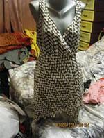 Туника длинная или платье короткое в горох 22 54 XL, фото 1