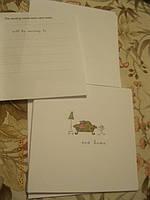 Конверты и открытки с новосельем новые из британии