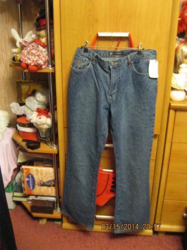Джинсы брюки штаны женские новые фирменные CHILLIPEPPER синие 48 14 M