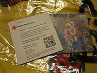 Декор Подставка под горячее ПОД ЧАШКУ ЛОТ=2шт красный крест Британия