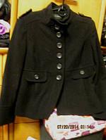 Пальто полупальто демисезонное черное 48 14 М DOROTHY PERKINS