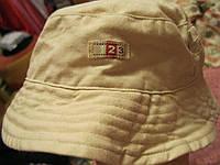 Панама летняя светлая шляпа детская 3-6 месяцев, фото 1
