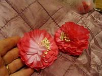 Брошь брошка цветок украшение розовая