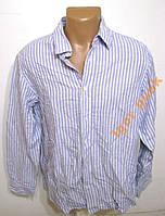 Рубашка M&S BLUE HARBOUR, L ХЛОПОК-ЛЕН