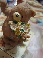 Сувенир мишки статуэтка фигурка ХОББИ мама и сын медведь медвежонок фигурка сувенир