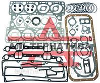 Набор для ремонта двигателя ЗИЛ-130(Прокладки + РТИ)