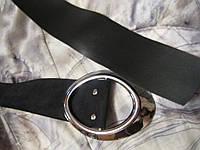 Пояс ремень искусственная замша 1.10x0.06см черный