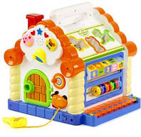 Развивающая музыкальная игрушка теремок 9196, фото 2