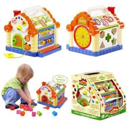 Детский домик теремок 9196