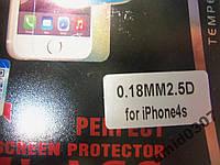 Защитное стекло Perfect для iPhone 4S