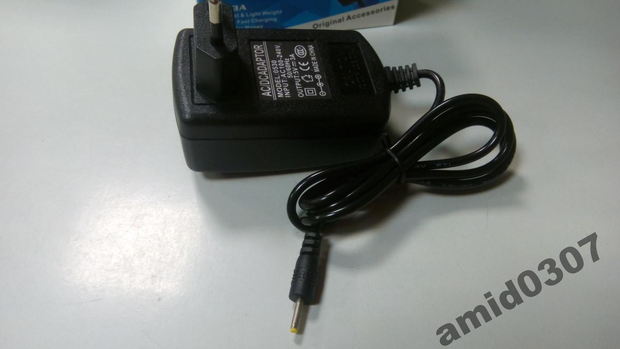 Зарядний пристрій для планшета 5V 3A 2.5*0.7 mm