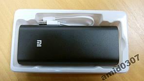 Зовнішній акумулятор Power Bank Xiaomi Mi 16000 mAh / Повер Банк Xiaomi Hi-Copy, реальна місткість 50% 8000 маг