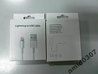 Кабель для Apple iPhone 5, 5S Lightning white