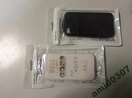 Чохол-накладка Case для iPhone 4G/S чорний