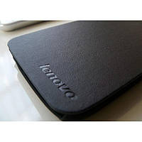 ЧЕХОЛ Leather Flip Cover Lenovo A656 A766 Black