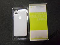 Силиконовый чехол-накладка для iPhone 4G