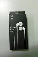Наушники вакумные iPhone! iPod MP3. С микрофоном!