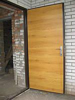 """Входная дверь """"Metal-Doors R-2""""Ламинат металлическая сварная металл(2мм)."""