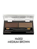 Набор для моделирования бровей - Rimmel London Brow This Way (Оригинал) №002 Medium Brown