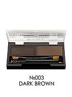 Набор для моделирования бровей - Rimmel London Brow This Way (Оригинал) №003 Dark Brown