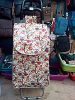 Хозяйственная сумка-тележка с атласной сумкой , фото 1