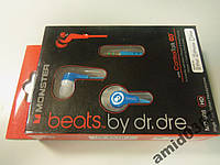 Наушники Monster Beats by Dr. Dre MD-608 blue