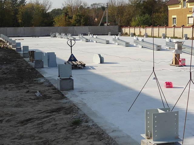 Здание склада утепленное 21х76х4 м. Киевская обл. 10