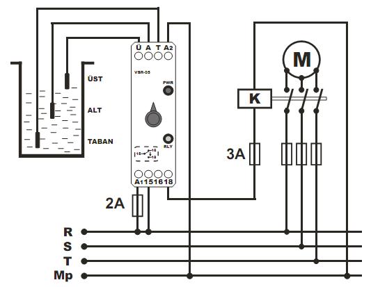 Реле контроля уровня воды в скважине, колодце, баке