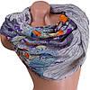 Нежный женский шарф 184 на 86 см  ETERNO (ЭТЕРНО) ES0908-1-6 разноцветный