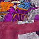 Нежный женский шарф 184 на 86 см  ETERNO (ЭТЕРНО) ES0908-1-6 разноцветный, фото 2