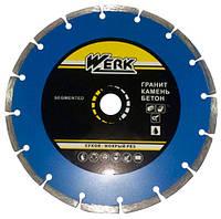 Диск алмазный Werk Segment 1A1RSS/C3-W 115х7х22.23 мм (WE110100)