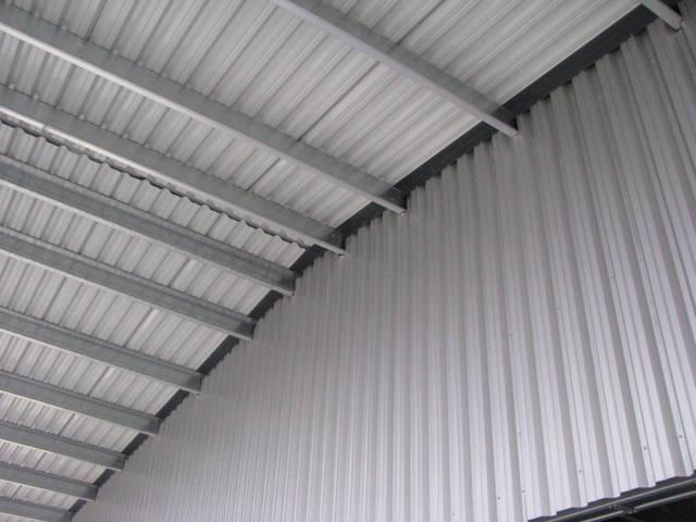 Здание склада утепленное 21х76х4 м. Киевская обл. 26