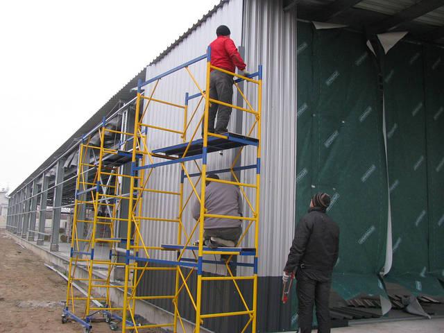 Здание склада утепленное 21х76х4 м. Киевская обл. 25