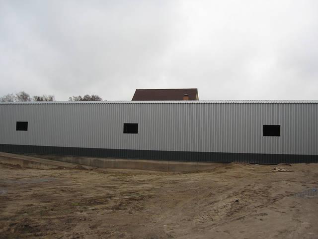Здание склада утепленное 21х76х4 м. Киевская обл. 23
