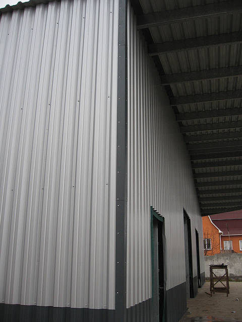 Здание склада утепленное 21х76х4 м. Киевская обл. 22