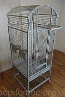 Вольер клетка для попугаев на роликах+антимусорник.
