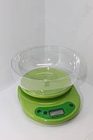 Весы кухонные со съемной чашей (5 кг) + батарейки, фото 1